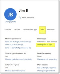 manage email apps